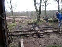 Kurbahn Bad Bramstedt 2012-03-31 Weichenhebel 01