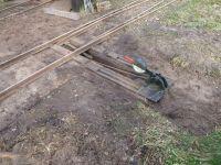 Kurbahn Bad Bramstedt 2012-03-31 Weichenhebel 02