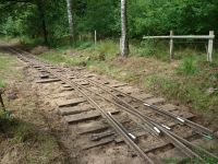 Kurbahn Bad Bramstedt - Gleispflege 2012-07-14 05